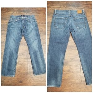Lucky brand hand crafted jeans